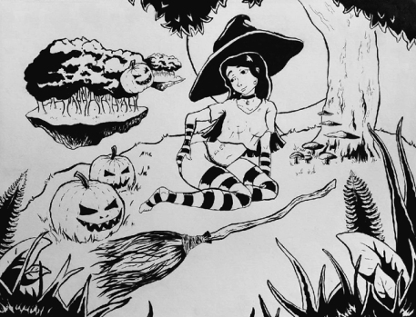 Halloween Witch OC #2