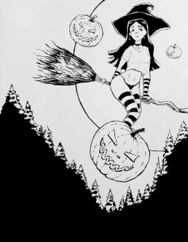 Halloween Witch OC #1