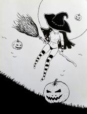 Halloween Witch OC #3